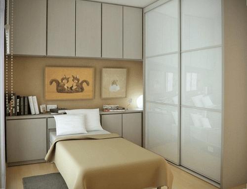 Дизайн маленькой спальни - 100 фото, идеи интерьеров