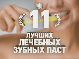 Зубные пасты для десен рейтинг
